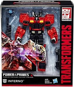 Transformers Power of the Primes Voyager Class - Inferno - Genuine and New