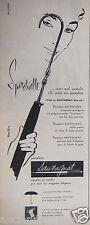 PUBLICITÉ 1957 PARAPLUIE SAUVAGNAT BIEN SÛR ! - ADVERTISING