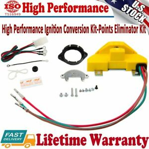 2010ACC V8 Ignition Conversion Kit For 1957-74 GM W/Single Points Distributor