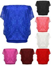 Polyester Cap Sleeve Semi Fitted Tops & Shirts for Women