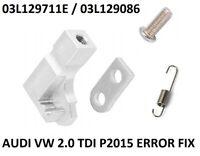 For Audi VW 2.0TDI Inlet Manifold P2015 Error Flap Actuator Motor Repair Bracket