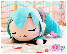 ♥ Kawaii XL Soft Sleep Miku Hatsune Vocaloid Plüsch Figur Manga Anime Cosplay ♥