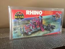 Kenner 1986 MASK Rhino Matt Tracker Europe Factory Sealed Cellophane AFA 80