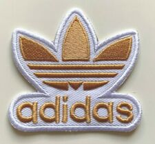ADIDAS TREFOIL sports LOGO- Embroidered Iron on Sew on PATCH- #5