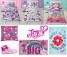 JoJo Siwa Bows Reversible Bedding Duvet Cover Set, Cushion, Blanket, Bath Towel