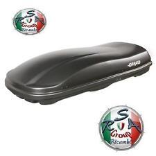 BOX AUTO FARAD MARLIN F3 N7 680LT NERO GOFFRATO - BAULE PORTABAGAGLI TETTO