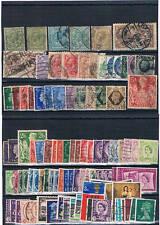 Gran Bretaña. Conjunto de 95 sellos usados aunque hay muchos nuevos