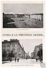 """ARTICOLO 1927 CUNEO """"PROVINCIA GRANDE"""" 7 ASSEDI VALDIERI VALLE GESSO B. ZUCCOLIN"""