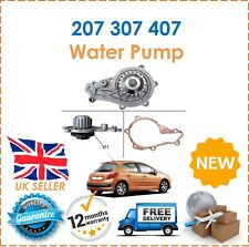 For Peugeot 207 1.6TD HDi 110 2006- Water Pump E111465 New