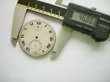 Cadran argenté L.Leroy & Cie dial Uhr,watch montre clock 46 mm  Zifferblatt