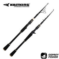 KastKing Blackhawk II Telescopic Fishing Rods Portable Spinning / Casting Rod AU