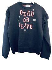 Designer Hayley Menzies  Alive Or Dead Jumper