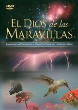 EL DIOS DE LAS MARAVILLAS DVD ECPLORANDO LAS MARAVILLAS DE LA CREACION