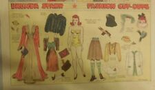 Brenda Starr Sunday with Large Uncut Paper Dolls from 9/28/1941 Full Size Page