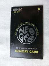 Neo Geo AES Memory Card - NEO-IC8