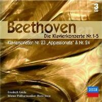 """FRIEDRICH GULDA """"KLAVIERKONZERT 1-5"""" 3 CD BOX NEU"""