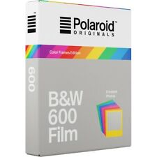 Polaroid 600 B&W Instant Film - Color Frame Edition  - For Polaroid 600
