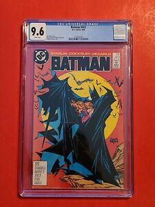 Batman #423 🦇 CGC 9.6 1st Todd McFarlane with DC 🔥 not 171 not 181 2nd Print