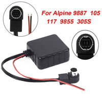 Auto Car Bluetooth Adapter Module AUX Cable For Alpine 9887/105/117/9855/305S