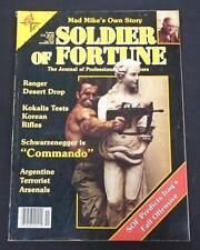 Soldier Of Fortune November 1985 (11/85) Argentine Terrorist Free Shipping