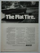 PIRELLI Tires 1969 Car Equipment magazine advert - English - USA