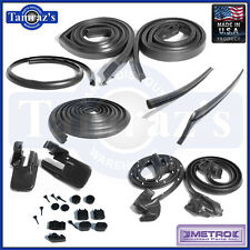 1969 for Camaro Firebird Body Weatherstrip Seal Kit 11 Pieces Hardtop New