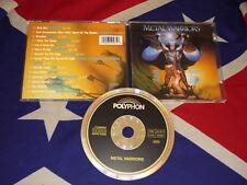 METAL WARRIORS  CD  VICTORY MYDRA ACCEPT PAGANINI WARLOCK