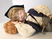 Little Boy Blue Porcelain Doll Dianna Effner's Mother Goose Collection Knowles