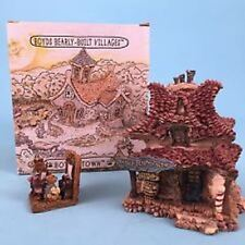 Rare- Boyds Bearly Built-Villages-Madge&#039 ;S Beauty Salon & Bait Shop #19010V (Mib)