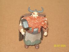 How to Train Your Dragon Stoick figure COMPLETE Spin Master 2010