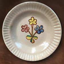Superb ICS Italian Pottery Floral Plate