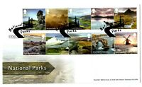 2021 GB NATIONAL PARKS FIRST DAY COVER FDC BAKEWELL *NICE* 14.01.21