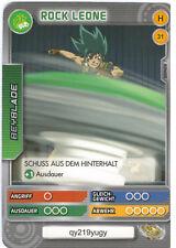 H 31 Rock Leone-DeAgostini Beyblade Battle card Collection 2011 (6)