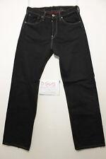 Levi's 542 schwarz Boyfriends Jeans gebraucht (Cod.D505) Gr 44 W30 L34
