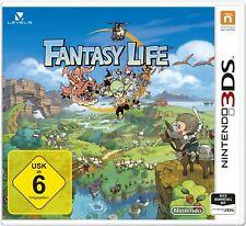 Fantasy Life Nintendo 3ds NUEVO+emb.orig