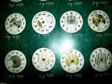 Lot 8 cadrans montre gousset ancienne  dial pocket watch Zifferblatt ART DECO 14