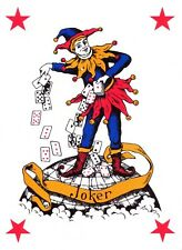 THE JOKER PLAYING CARD  IRON ON T SHIRT TRANSFER
