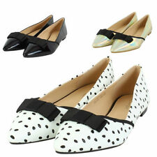 Ballerinas Spotted Synthetic Flats for Women