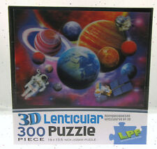 3D Lenticular ~ Solar System ~ Jigsaw Puzzle ~ 19 x 13.5 inch ~ 300 Pieces