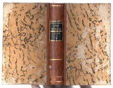 BIBLIOTHEQUE UNIVERSELLE DES ROMANS NOVEMBRE DECEMBRE 1775 LITTERATURE ANTIQUE