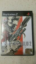 Metal Gear Solid 2 playstation 2 ps2 ita completo