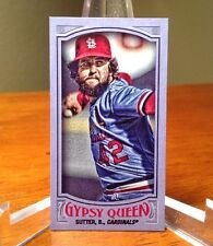 2016 Gypsy Queen Mini Purple Bruce Sutter SP #'d/250 St. Louis Cardinals