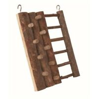 Trixie Natural Living Climbing Wall, 20 x 16cm - Wall Hamster Ladder 16cm Toy