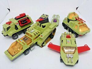 Vintage 1970s Lesney Matchbox Adventure 2000 Raider Command K-2001/03/04/05 Set