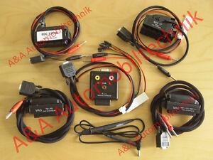 Adapterkabel Set für VAG (VW, Audi, Seat, Skoda) Steuergeräte, 8-teilig