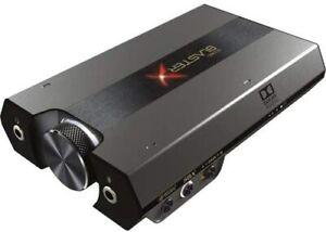 CREATIVE Tarjeta de Sonido USB Externa y DAC para Juegos HD Sound BlasterX G6