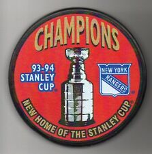 New York Rangers 1994 NHL Stanley Cup Champions Hockey Puck + FREE Cube