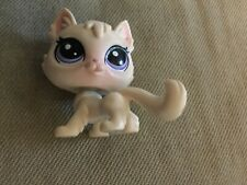 New ListingLittlest Pet Shop # 250 Sunny Sunday White Angora Persian Cat Glam Gala