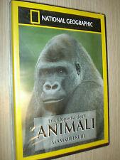 DVD N°3 NATIONAL GEOGRAPHIC ENCICLOPEDIA DEGLI ANIMALI MAMMIFERI III SCIMPANZE´