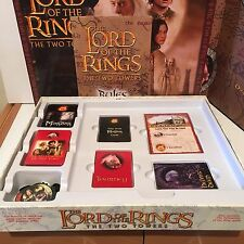 LORD OF THE RINGS THE TWO TOWERS BOARD GAME DATED 2003 COMPLETE VGC